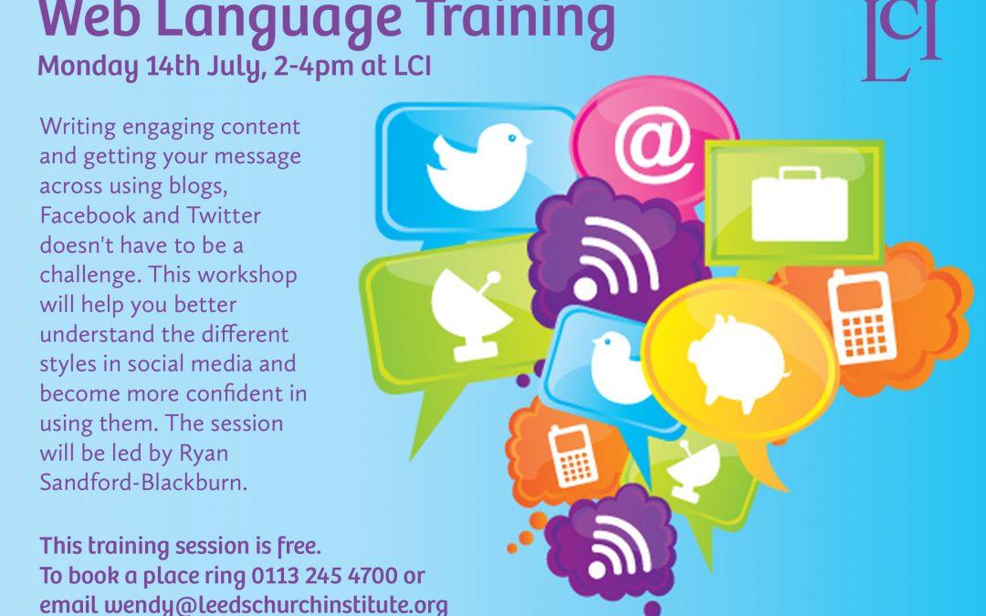 Web Language Training