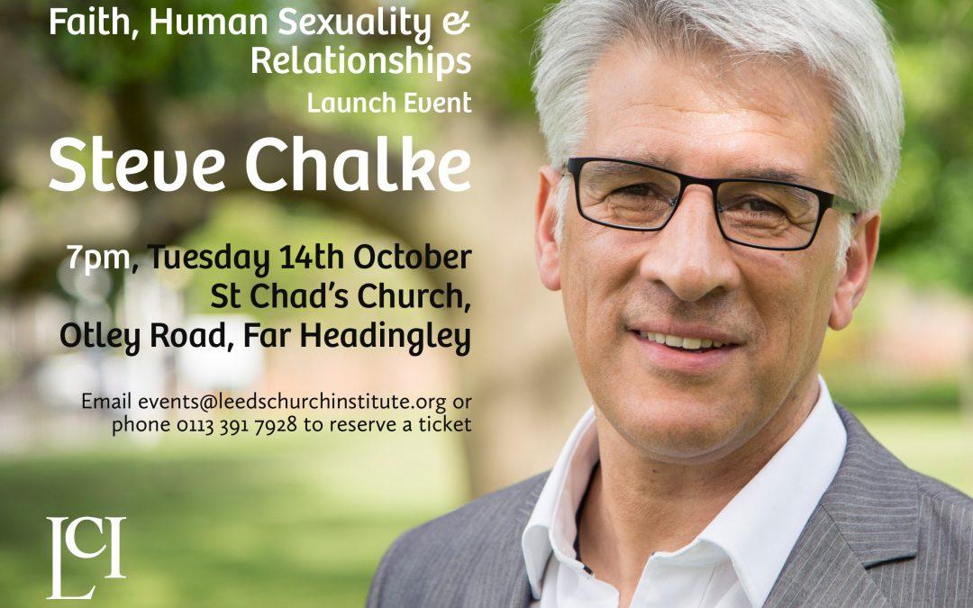 Steve Chalke Lecture