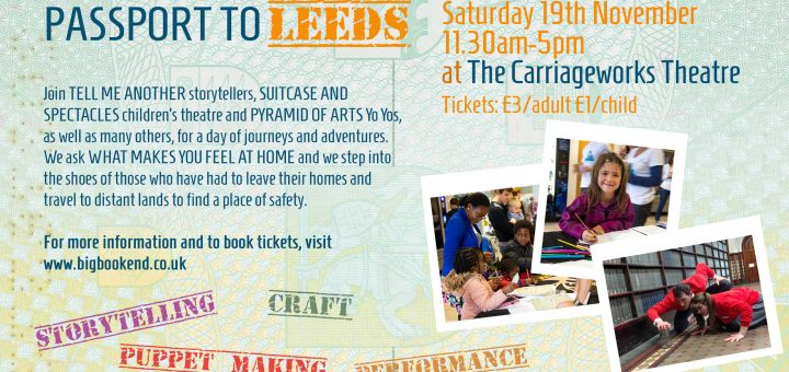 Leeds Big Bookend Children's Festival 2016