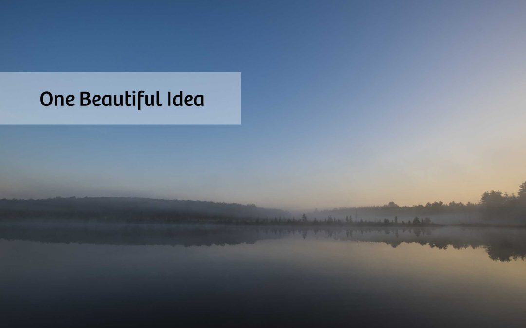 One Beautiful Idea by Ian Adams