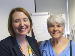 LCI Director Dr. Helen Reid with Frances Webber