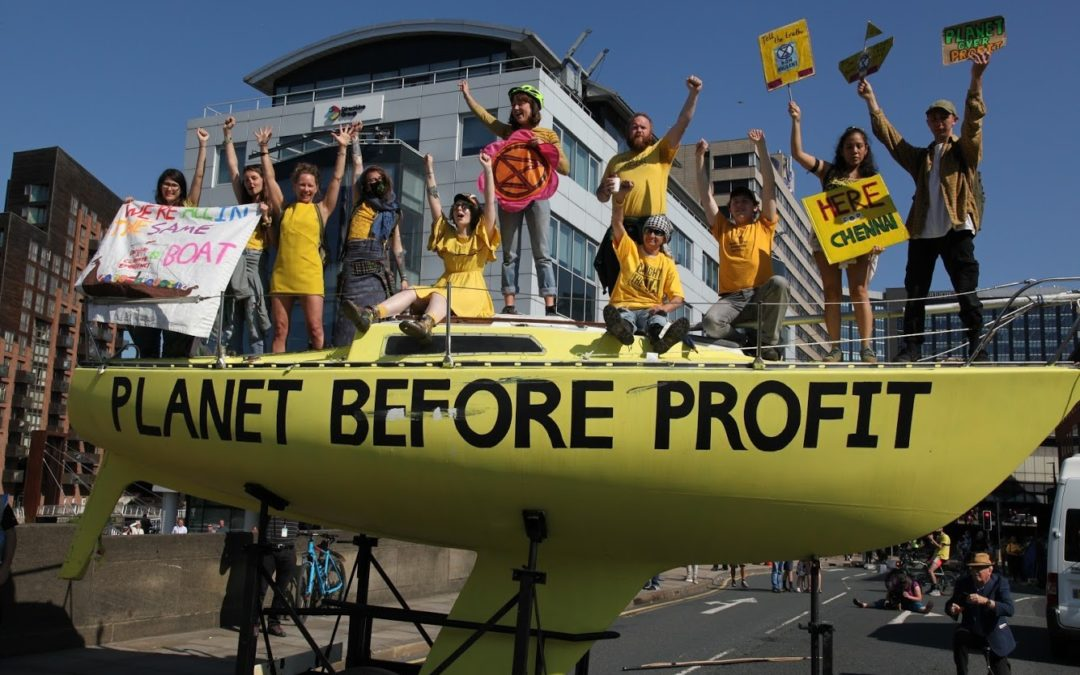 How should we respond to civil disobedience and the climate crisis?