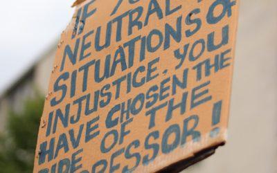 Silence is no longer an option: Black Lives Matter