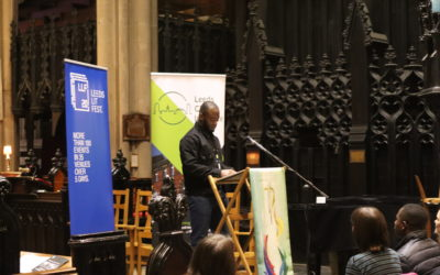 Abdullah Adekola reads his poem 'Neighbourhood Library'