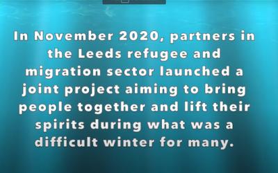 Lighting Up Lockdown 2021 from Leeds Asylum Seekers Support Network